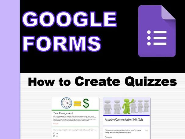How to use Google Forms to make a Quiz