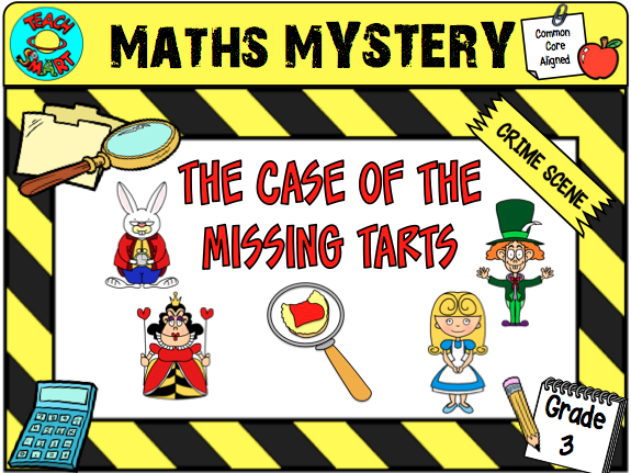 The Case of the Missing Tarts Grade 3 Maths Mystery