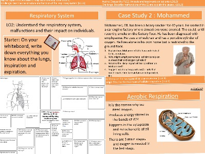Health and Social Care Cambridge Technicals Level 3 Unit 4 Respiratory System Complete with Revision and Topic Assessment