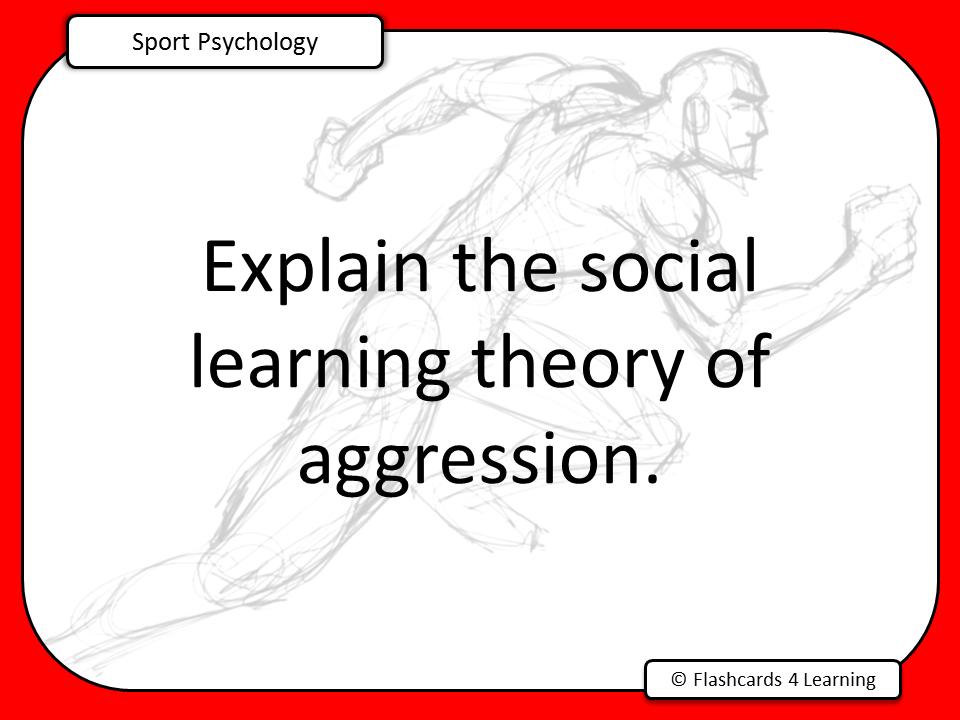 A Level PE (2016): Sport Psychology Question Cards