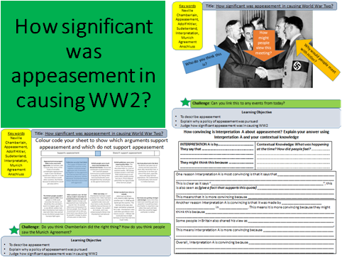 How significant was appeasement in causing World War Two?