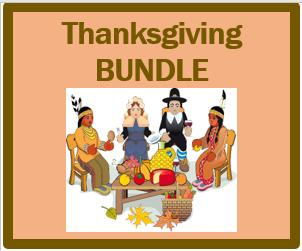 Giorno del Ringraziamento (Thanksgiving in Italian) Bundle