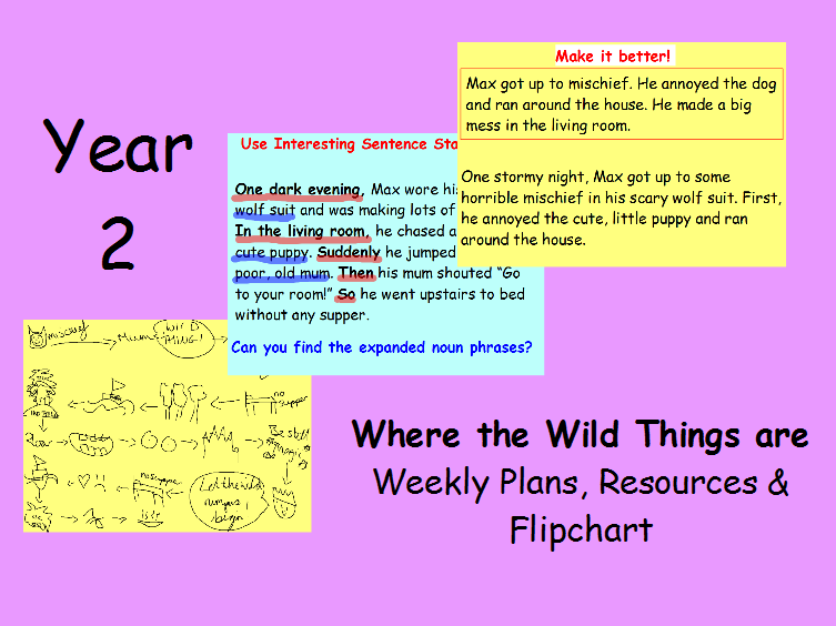 Where the Wild Things are Year 2