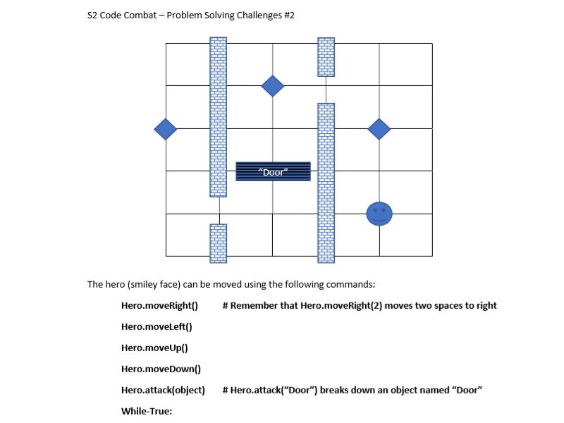 Code Combat Follow Up Challenges