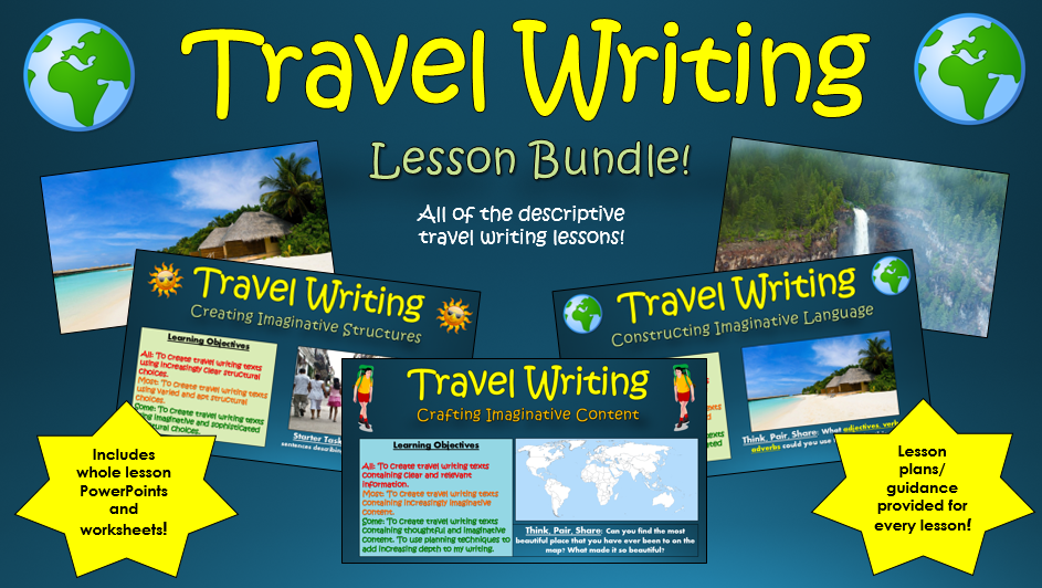 english language travel writing coursework A beginner's guide to writing in english for university study of academic writing and develop your english language courses in english language and.