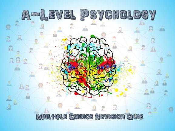 A-Level Psychology Revision Quiz