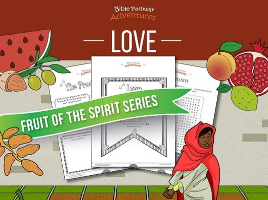 Love: Fruit of the Spirit Activity Book & Lesson Plan