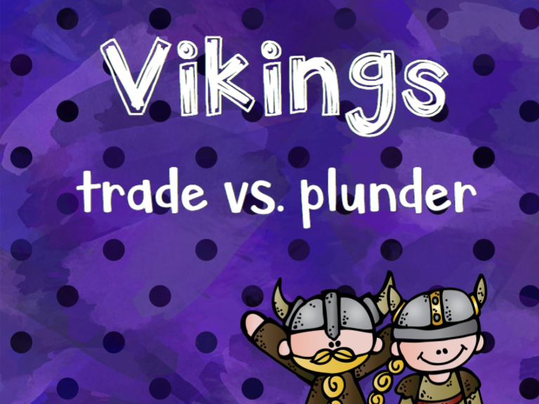 Vikings: Trade vs. Plunder Persuasive Text
