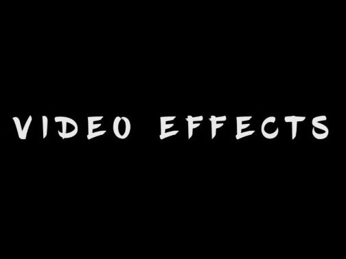 5 Music Video Effects
