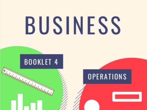 OCR GCSE Business Units 4-6