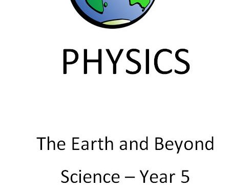 The Earth and Beyond - Year 5 Science