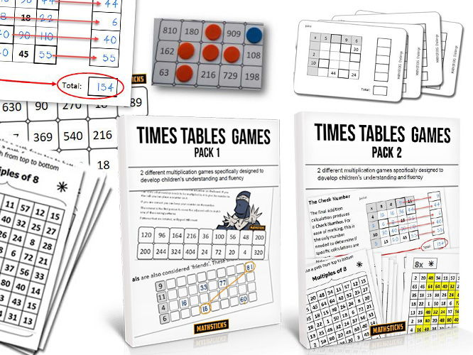 Times Tables Activities - Twin Pack