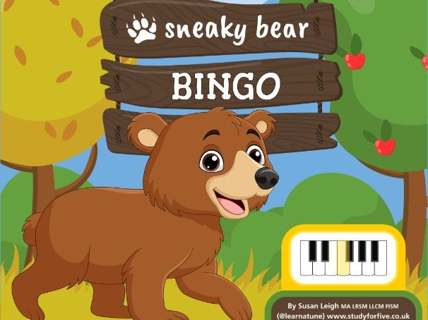 Sneaky Bear Bingo