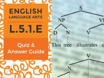 L.5.1.E - Quiz and Answer Guide
