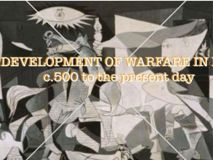 The Development of Machinery in WW1 & WW2
