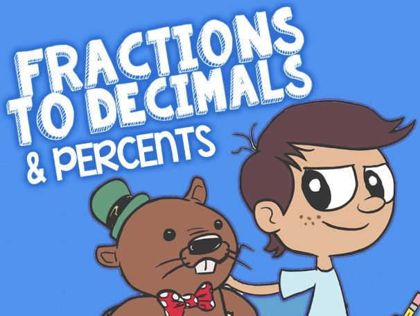 KS2 Fractions, Decimals, Percents: Fun Activities and Game