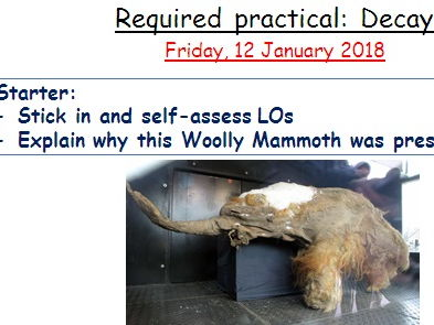 Required practical - Decay - AQA GCSE Biology