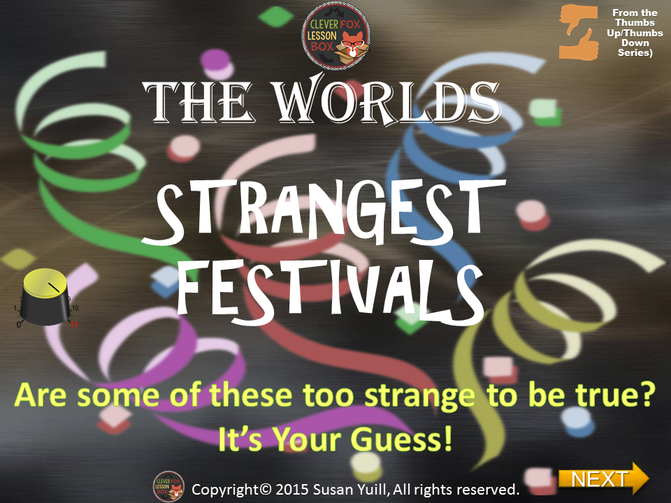 Worlds Strangest Festivals