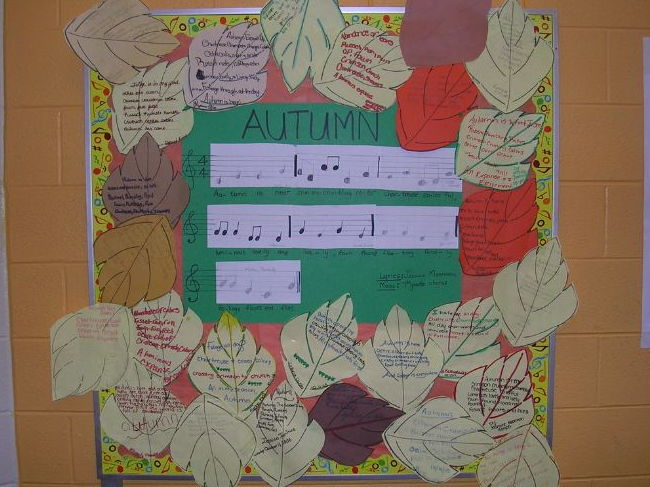 Fall Foliage Music Composition Lesson Plan