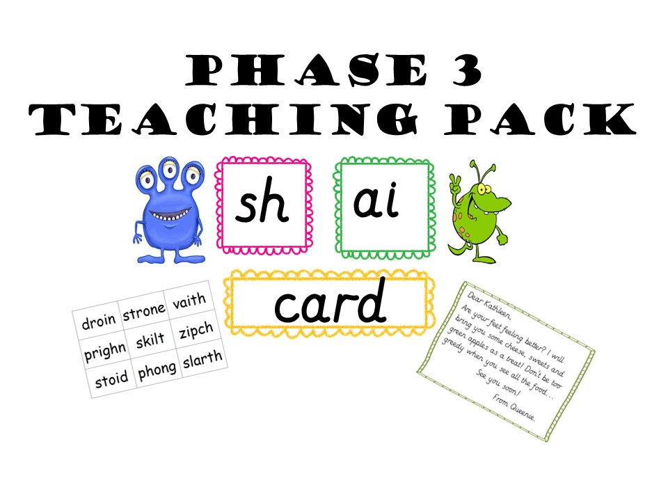 Phase 3 Teaching Pack