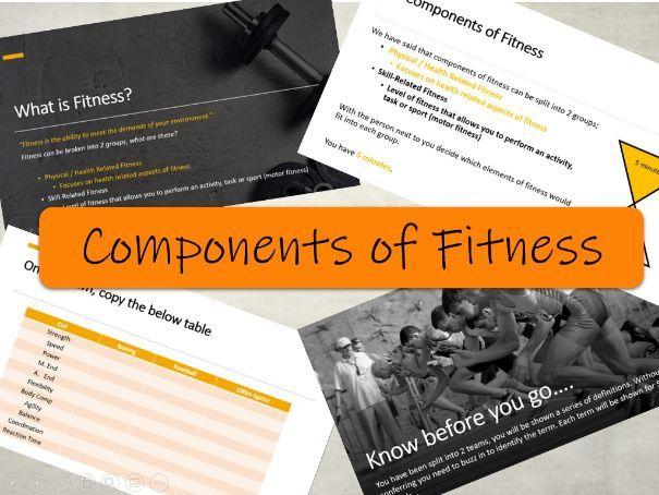 BTEC Sport L3 - Components of Fitness