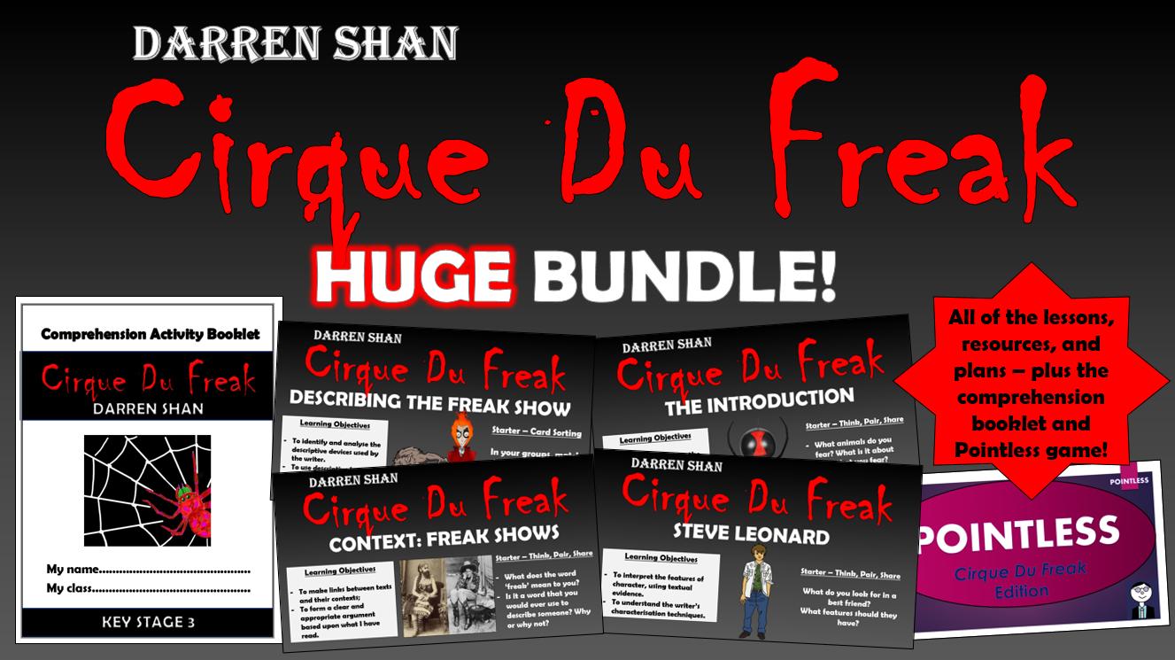 Cirque Du Freak Huge Bundle!