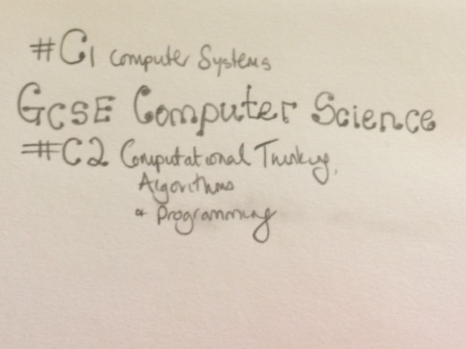 GCSE Computer Science 9-1 Revision