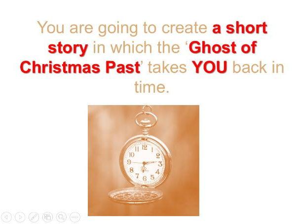 Year 9 'A Christmas Carol' - Autobiography Task