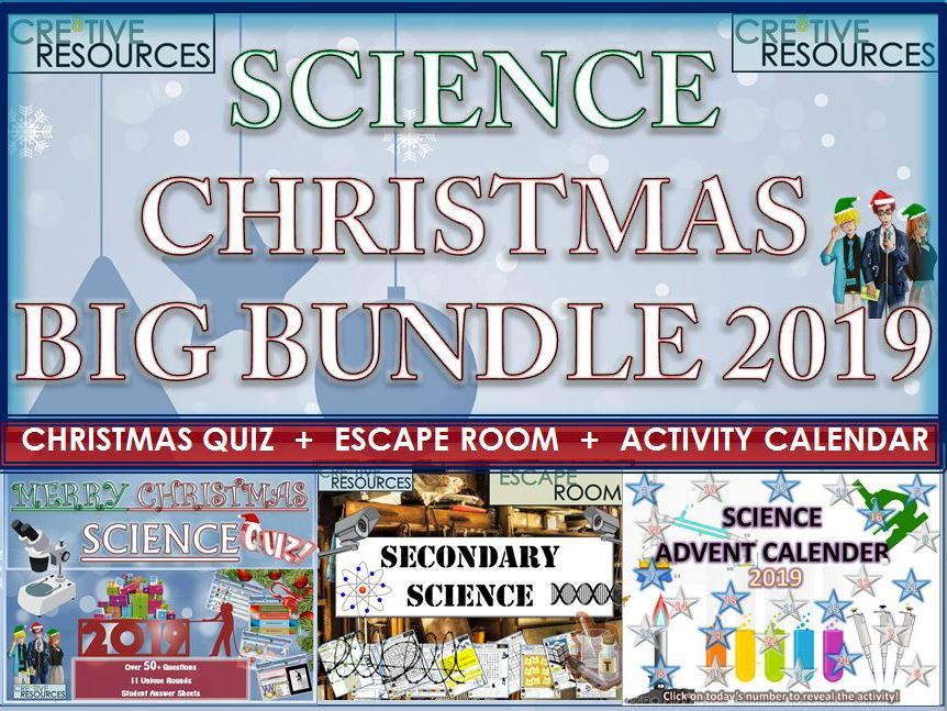Science Christmas 2019 BIG Bundle