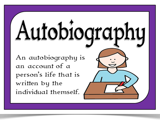 Autobiography unit - KS3 homework takeaway menu