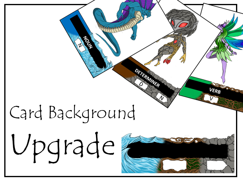 Battling Grammar - Upgrade pack for the exciting grammar card game