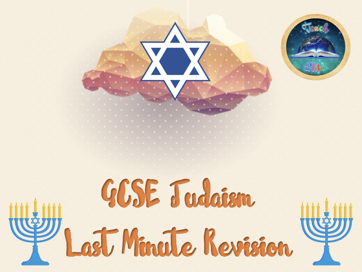 Last Minute Judaism Revision. FREE: use code: MARVELLOUS-MAY @ checkout