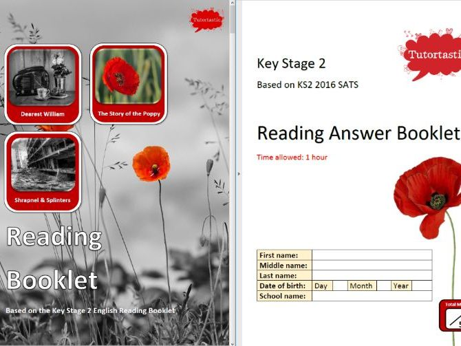 Remembrance Day KS2 SATS Reading Paper