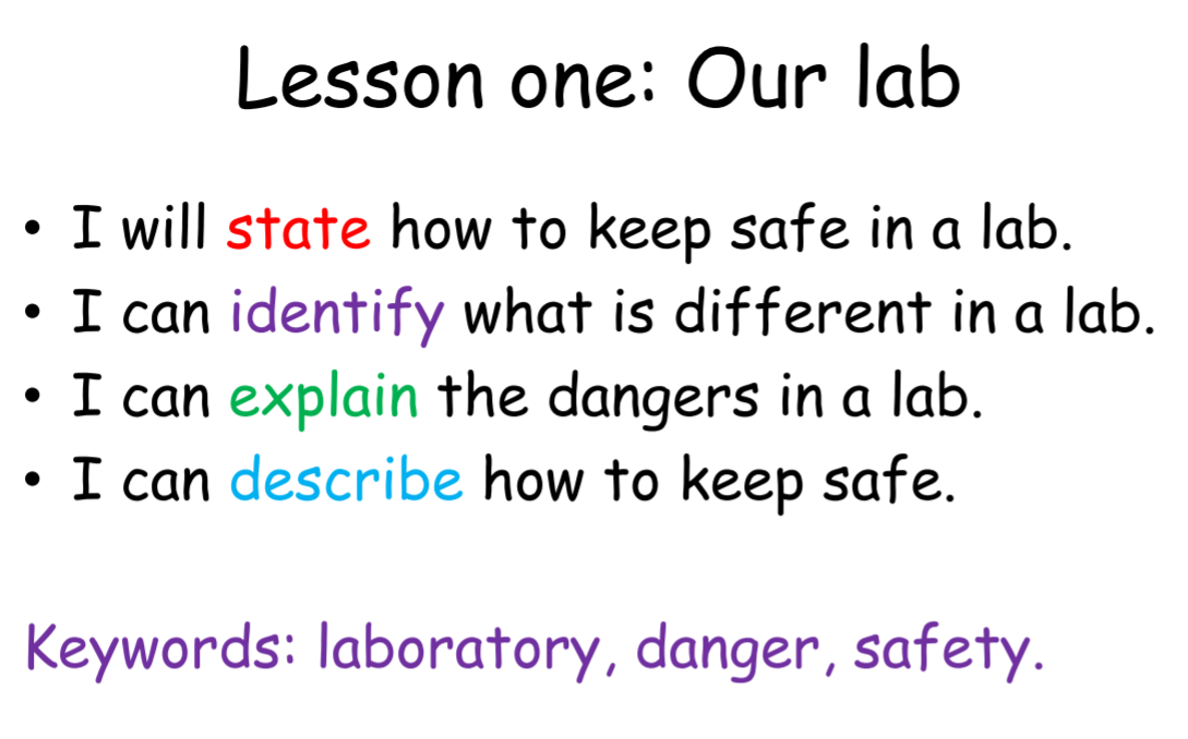 Introduction to Science: Year 7- 6 lessons