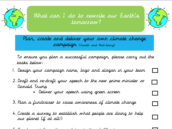 Climate Change Campaign Project
