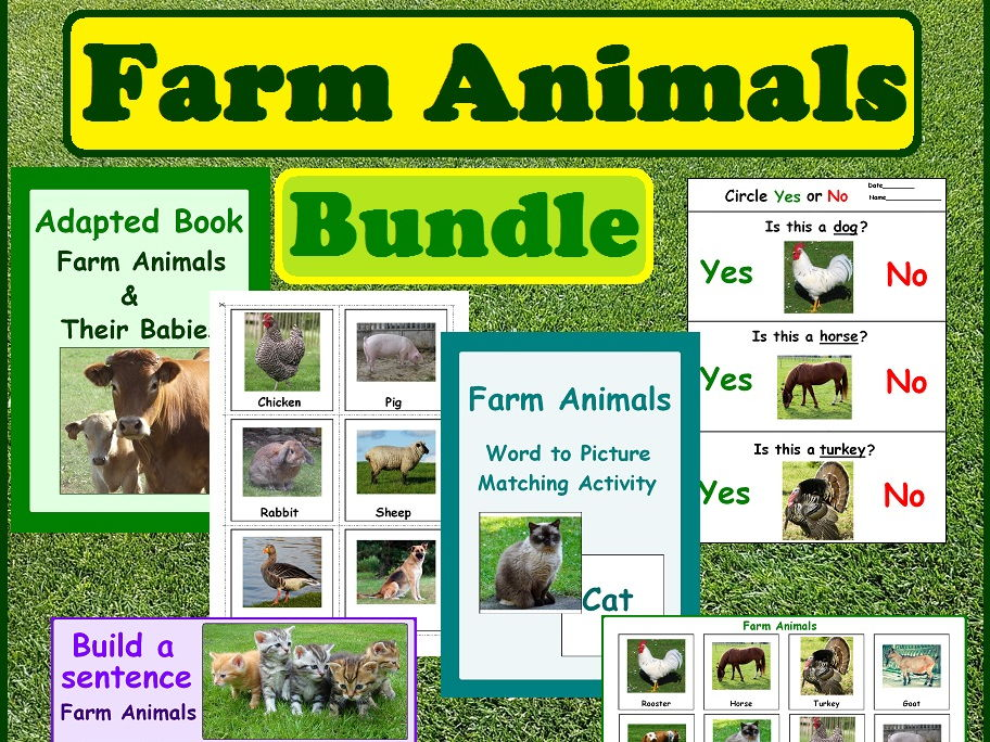 Farm Animals Bundle