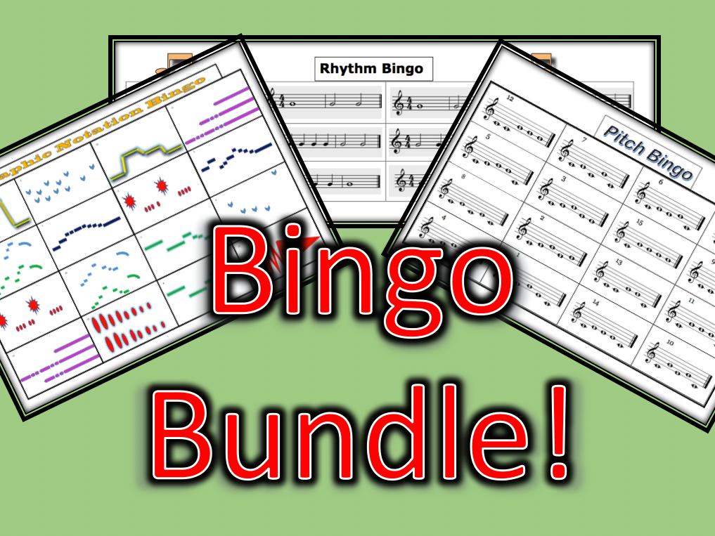 Music Bingo Pack