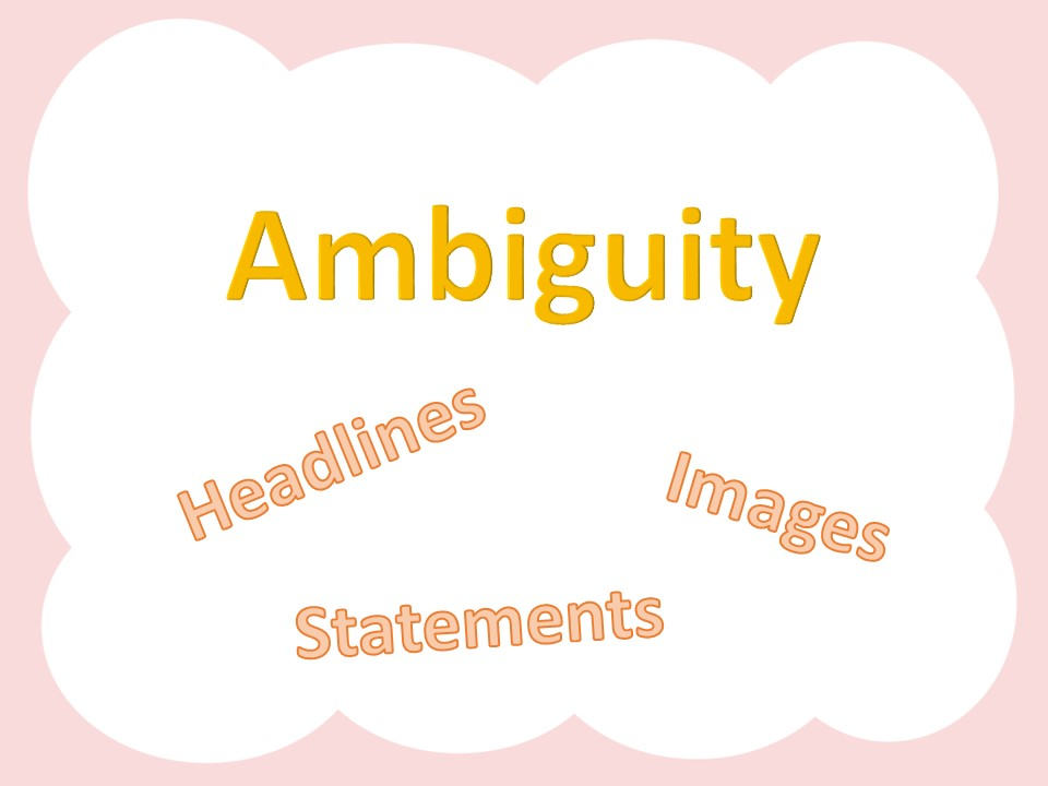 Ambiguity Lesson
