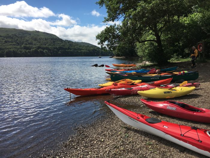 Outdoor Activities: Kayaking and Canoeing