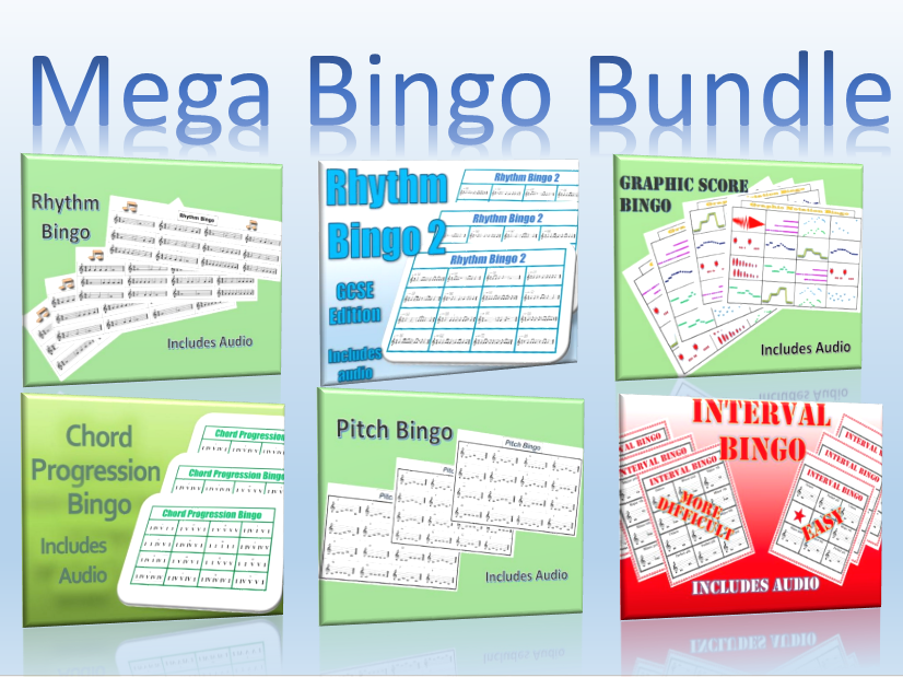 Mega Music Bingo Bundle