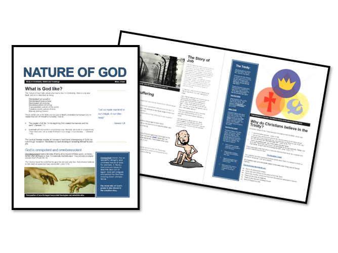 AQA Exam Booklet: Christian Beliefs and Teachings: Nature of God