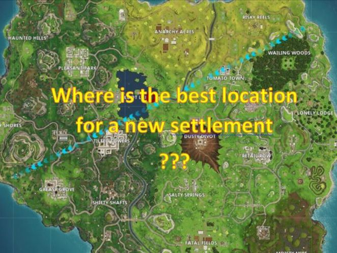 Site & Situation on the Fortnite Map