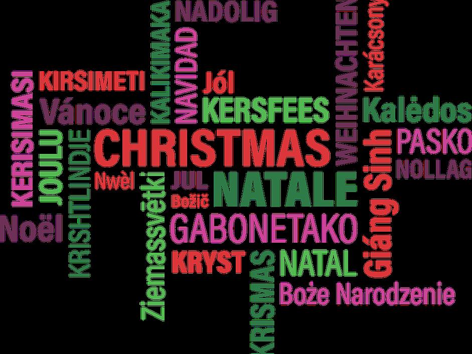 Christmas printable paper chains
