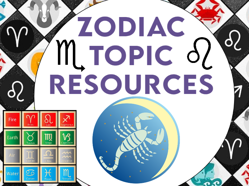 Zodiac Topic Resource Collection