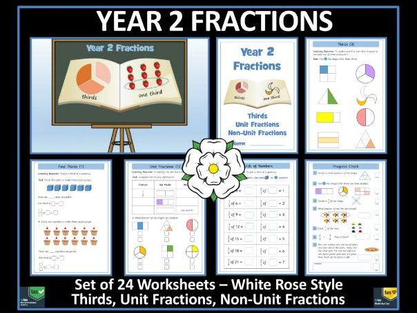 Fractions - Year 2