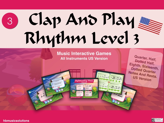 Clap And Play Rhythms Level 3 US Version