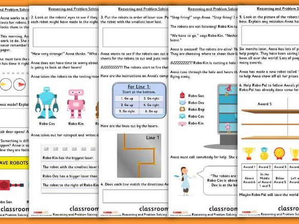 Position and Direction Consolidation Year 1 Summer Block 3 Reasoning and Problem Solving
