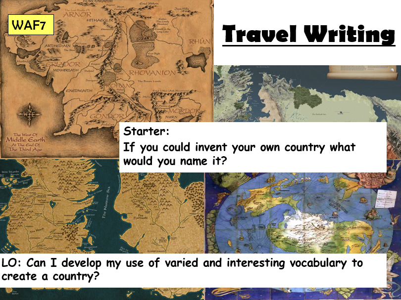 Travel Writing - Full Scheme of Work