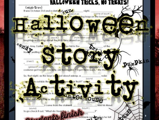 Halloween Activities! Acrostic Poem and Story Telling