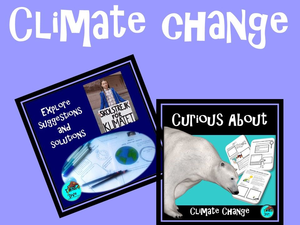 Climate Change, Paired  Pack, Project Based Learning, KS1, NGSS